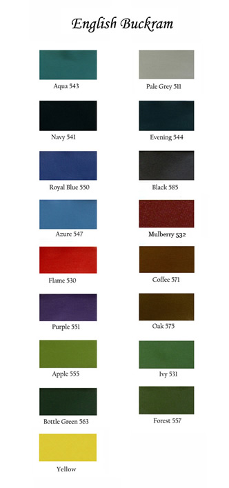 Arbelave thesis binding colours